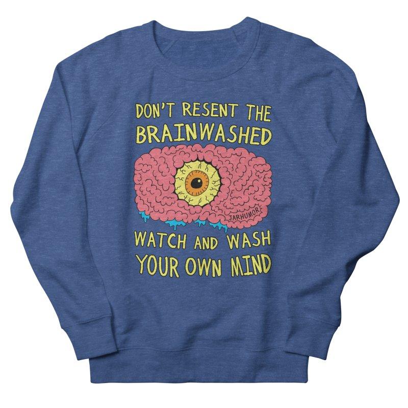 The Brainwashed Men's Sweatshirt by JARHUMOR
