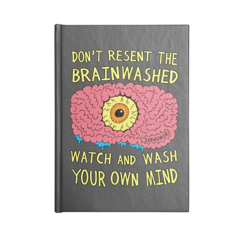 The Brainwashed Accessories Notebook by JARHUMOR