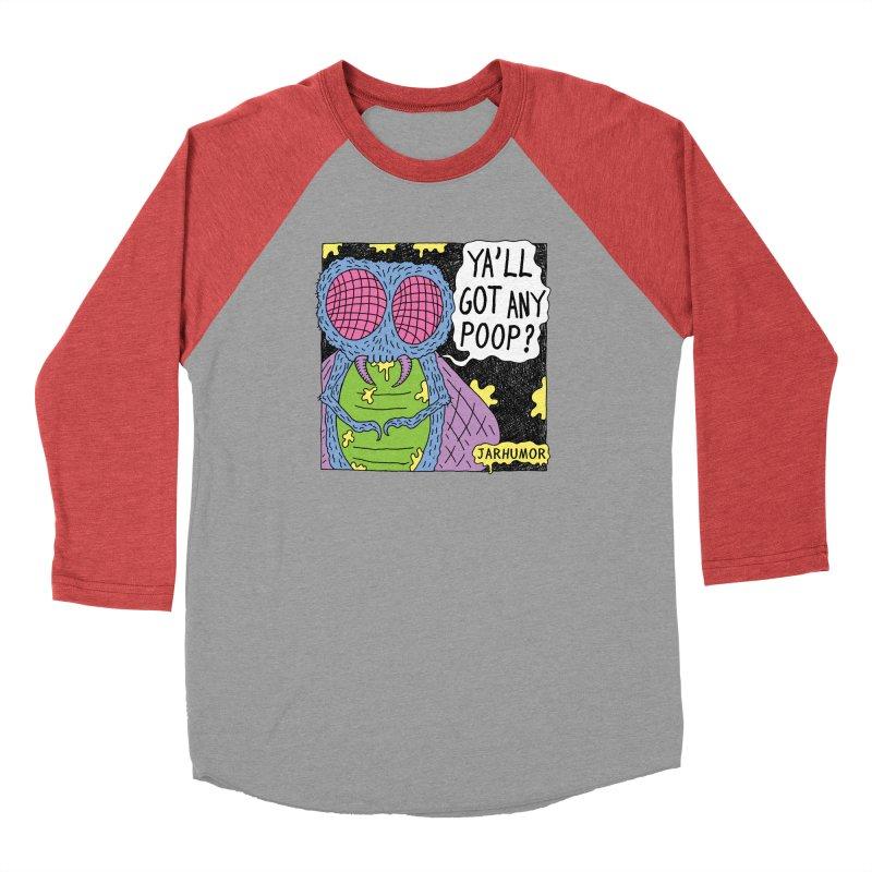 Ya'll Got Any Poop? Men's Longsleeve T-Shirt by JARHUMOR