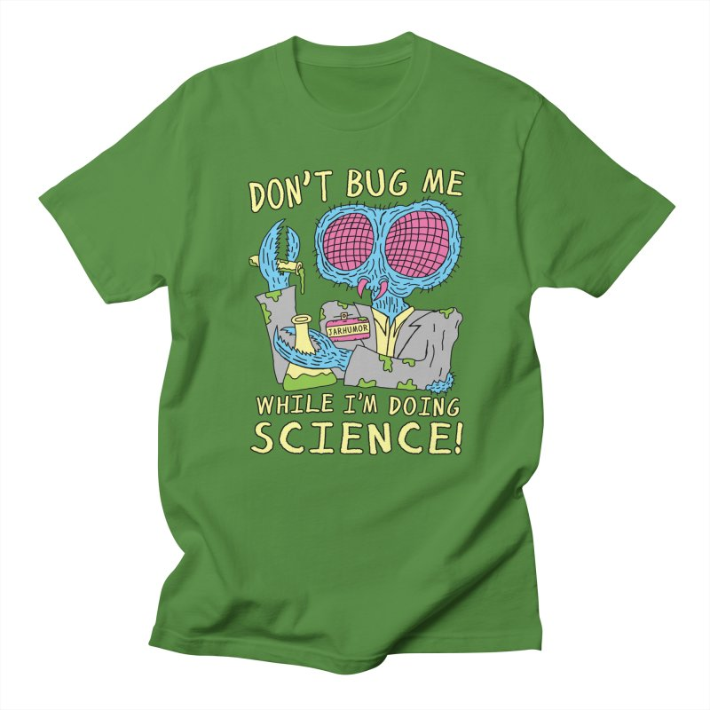 Bug Science Men's T-Shirt by JARHUMOR