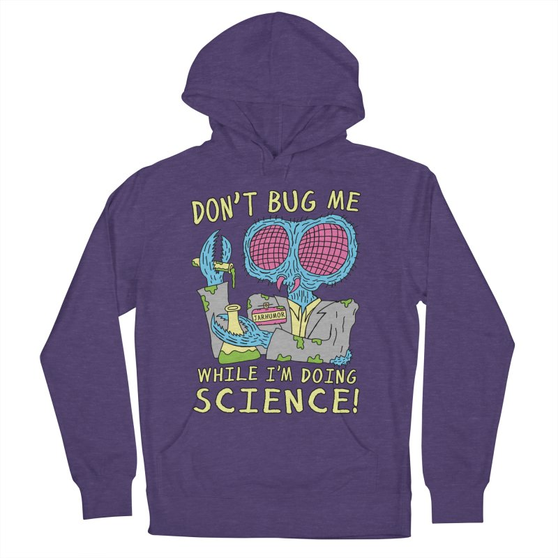 Bug Science Men's French Terry Pullover Hoody by JARHUMOR