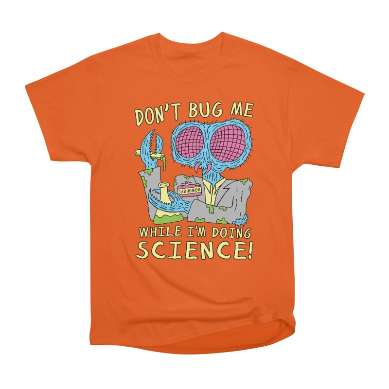 Bug Science Men's Heavyweight T-Shirt by JARHUMOR