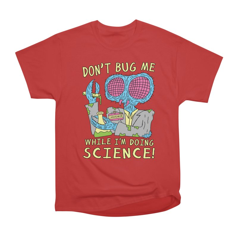 Bug Science Men's Classic T-Shirt by JARHUMOR