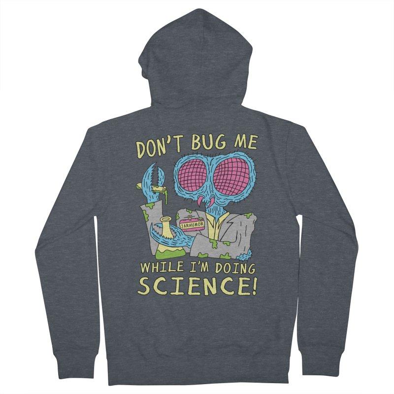 Bug Science Men's Zip-Up Hoody by James A. Roberson (JARHUMOR)