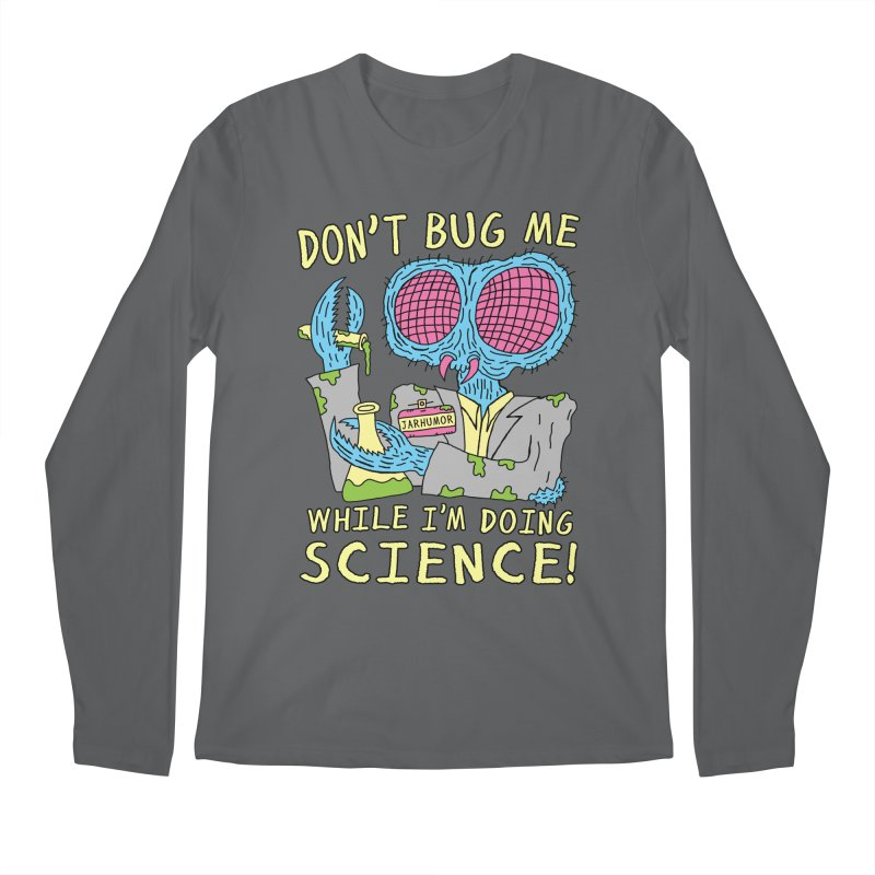 Bug Science Men's Regular Longsleeve T-Shirt by JARHUMOR