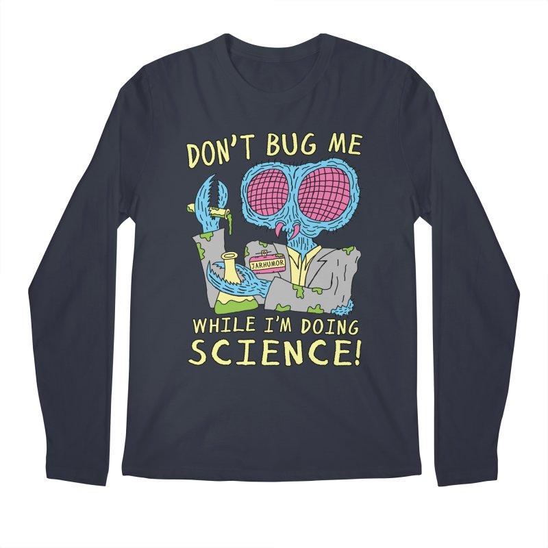 Bug Science Men's Regular Longsleeve T-Shirt by JARHUMOR