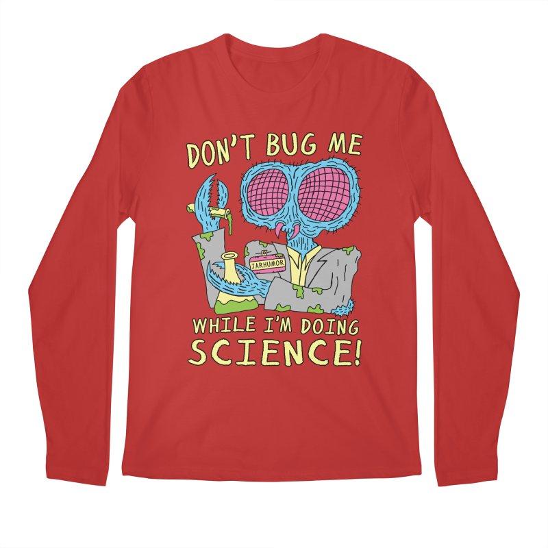 Bug Science Men's Longsleeve T-Shirt by JARHUMOR