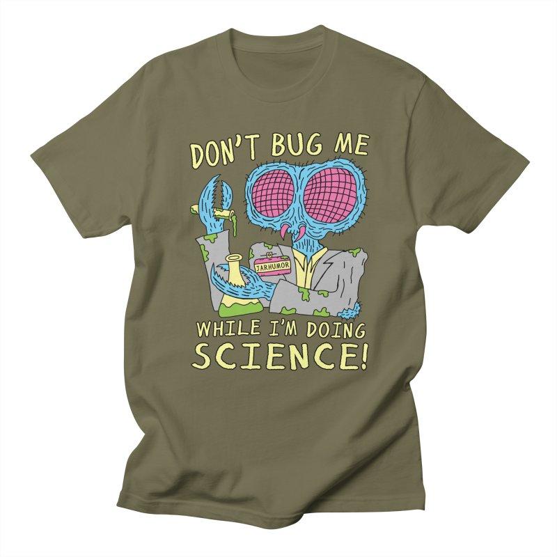 Bug Science Women's Regular Unisex T-Shirt by JARHUMOR