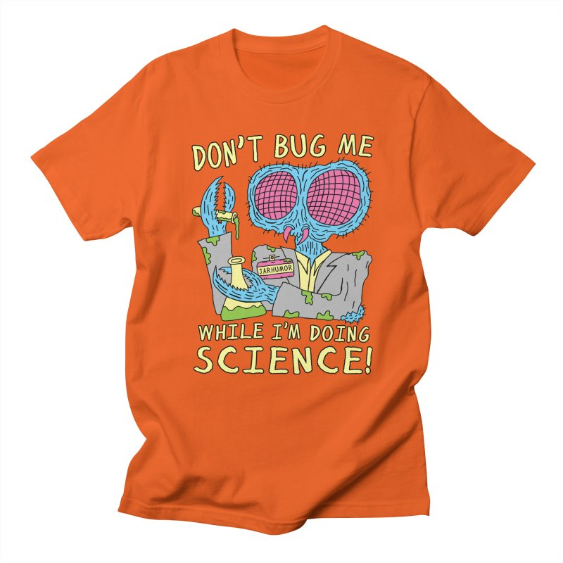 Bug Science Men's T-shirt by James A. Roberson (JARHUMOR)