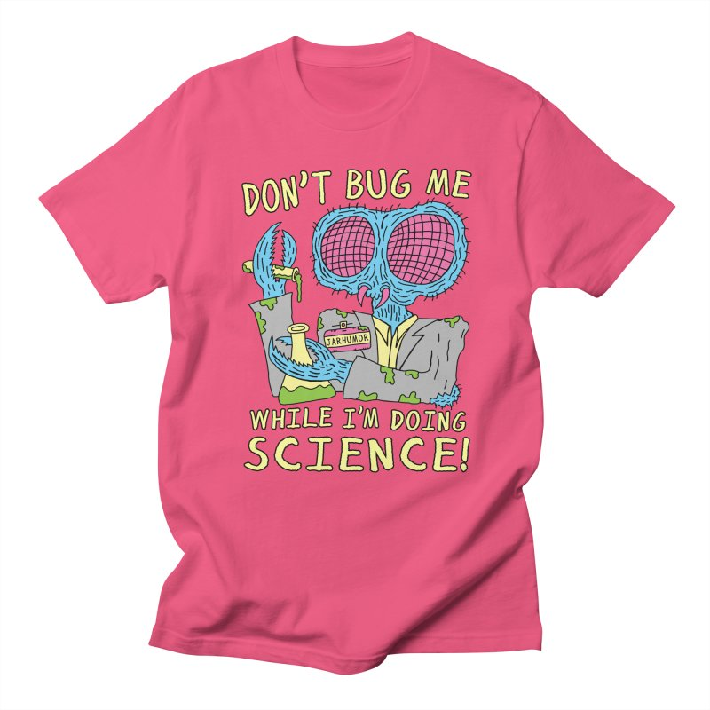 Bug Science Men's Regular T-Shirt by JARHUMOR