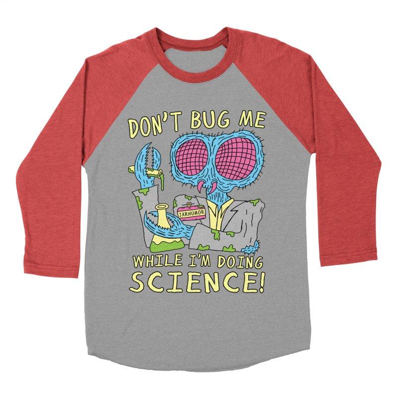 Bug Science Women's Baseball Triblend T-Shirt by JARHUMOR