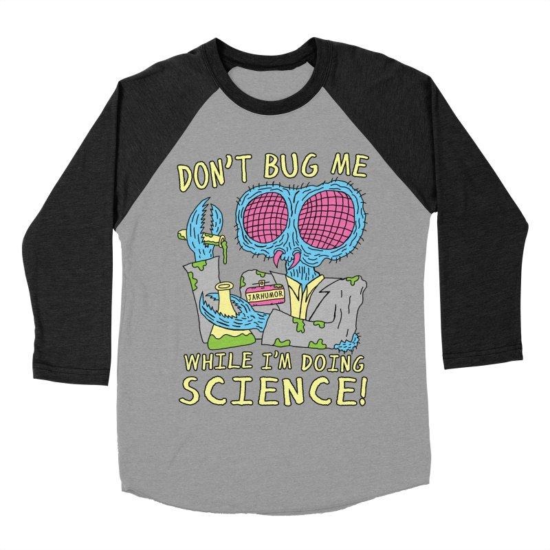 Bug Science Women's Baseball Triblend Longsleeve T-Shirt by JARHUMOR