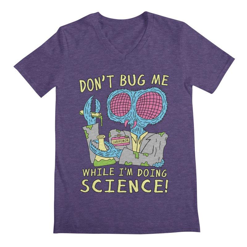 Bug Science Men's V-Neck by JARHUMOR