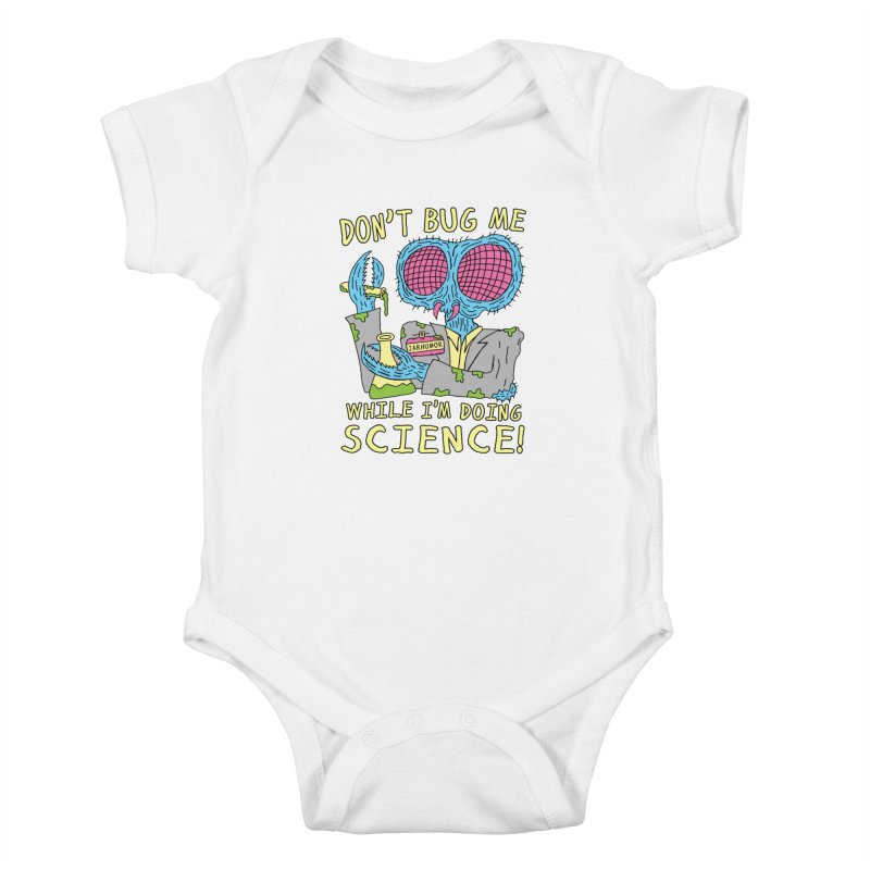 Bug Science Kids Baby Bodysuit by James A. Roberson (JARHUMOR)