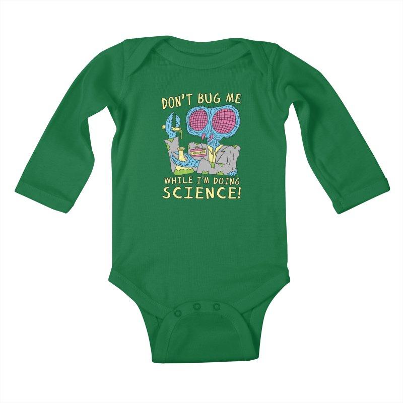 Bug Science Kids Baby Longsleeve Bodysuit by James A. Roberson (JARHUMOR)