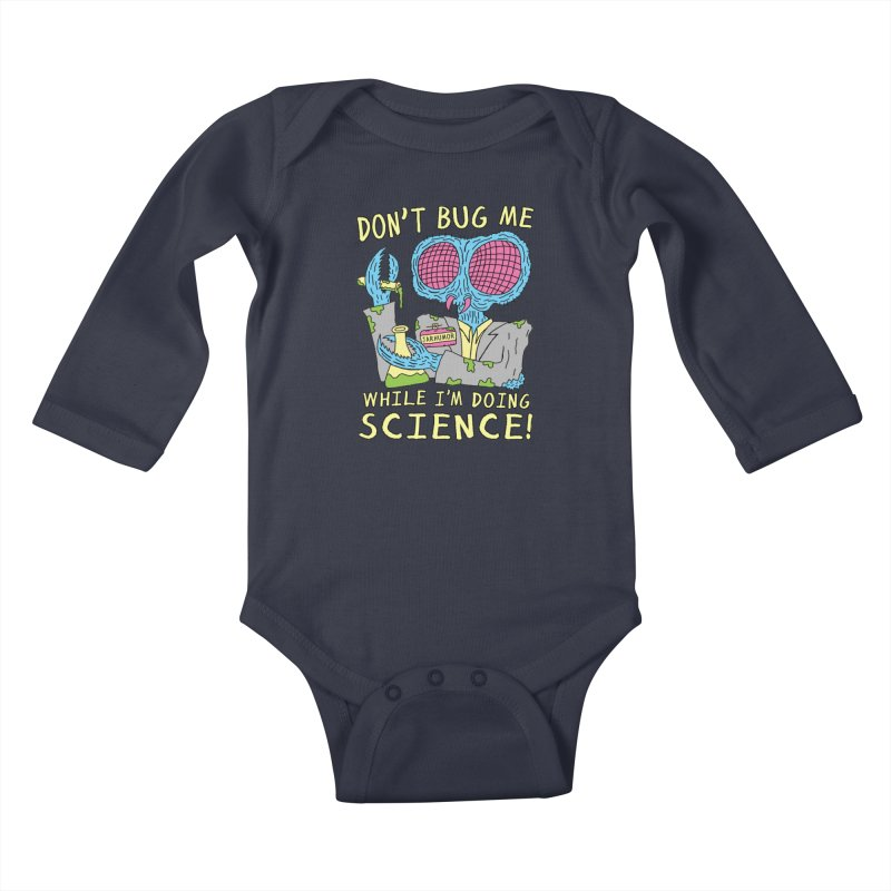 Bug Science Kids Baby Longsleeve Bodysuit by JARHUMOR