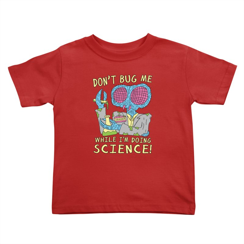 Bug Science Kids Toddler T-Shirt by James A. Roberson (JARHUMOR)
