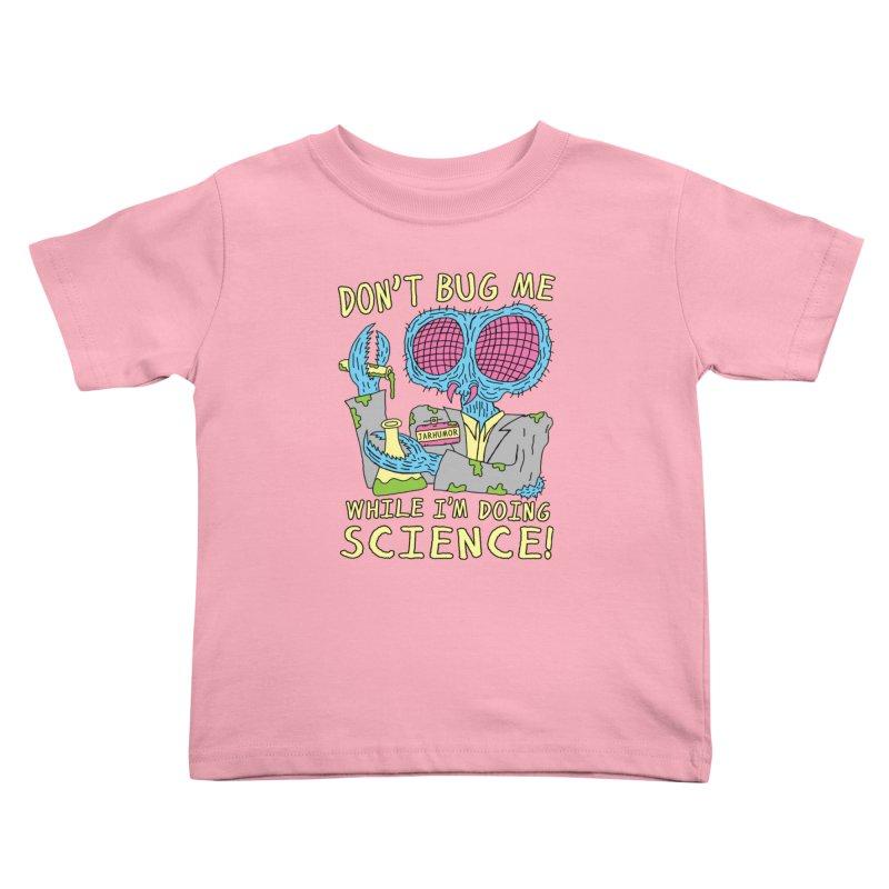 Bug Science Kids Toddler T-Shirt by JARHUMOR
