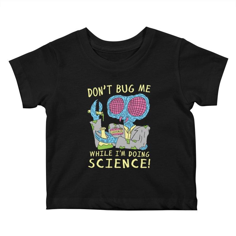 Bug Science Kids Baby T-Shirt by JARHUMOR