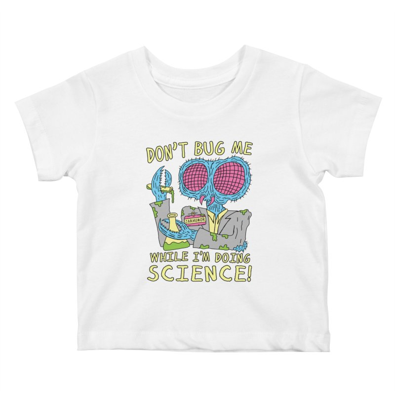 Bug Science Kids Baby T-Shirt by James A. Roberson (JARHUMOR)