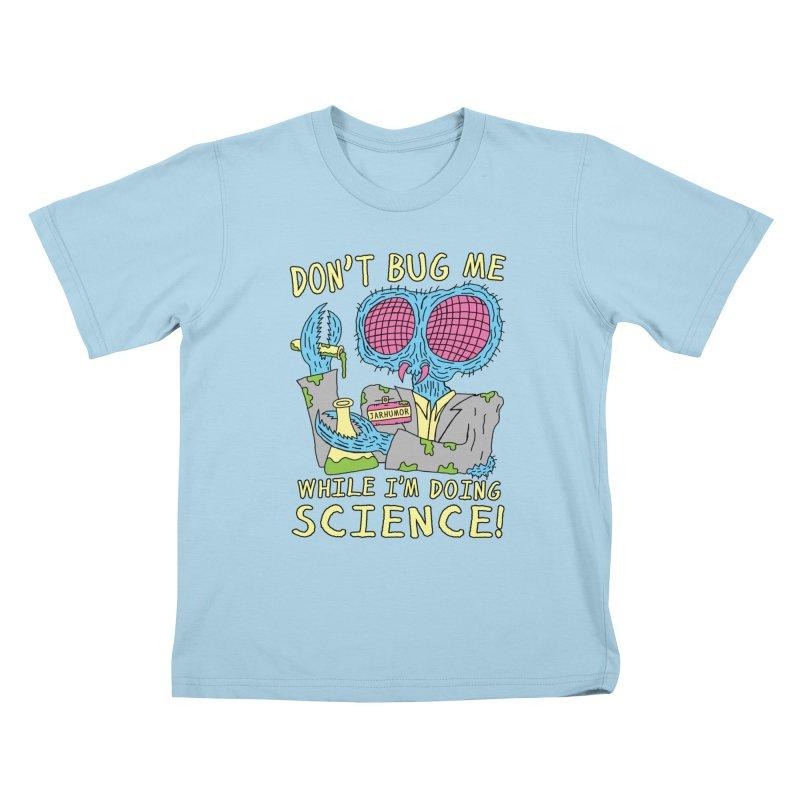 Bug Science Kids T-shirt by James A. Roberson (JARHUMOR)