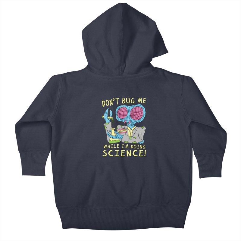 Bug Science Kids Baby Zip-Up Hoody by James A. Roberson (JARHUMOR)