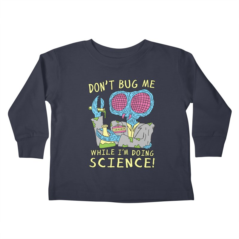 Bug Science Kids Toddler Longsleeve T-Shirt by JARHUMOR