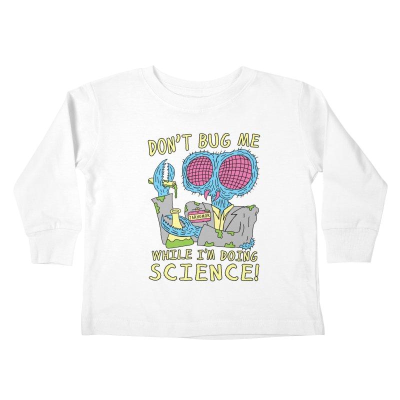 Bug Science Kids Toddler Longsleeve T-Shirt by JARHUMOR
