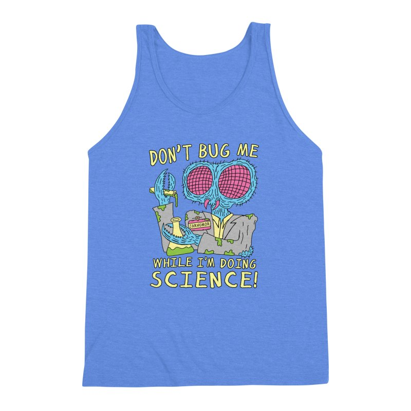 Bug Science Men's Triblend Tank by JARHUMOR