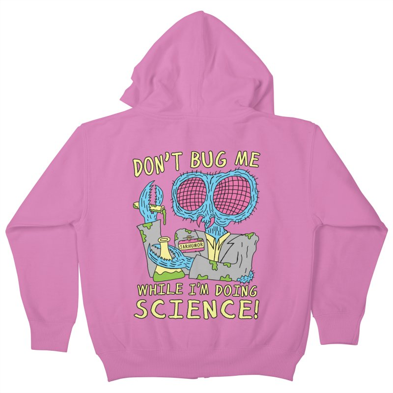 Bug Science Kids Zip-Up Hoody by James A. Roberson (JARHUMOR)