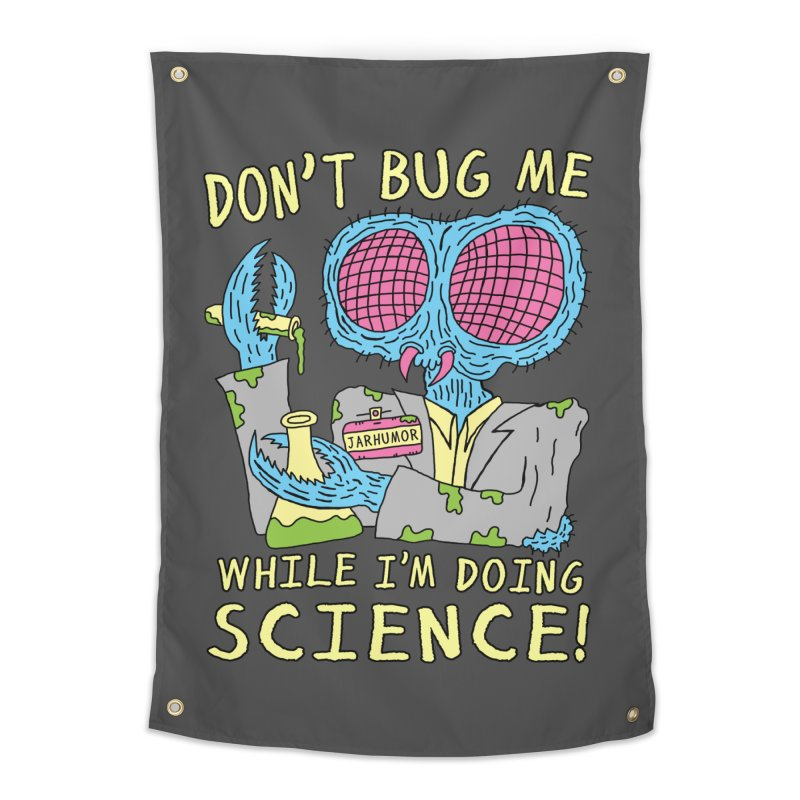 Bug Science Home Tapestry by JARHUMOR