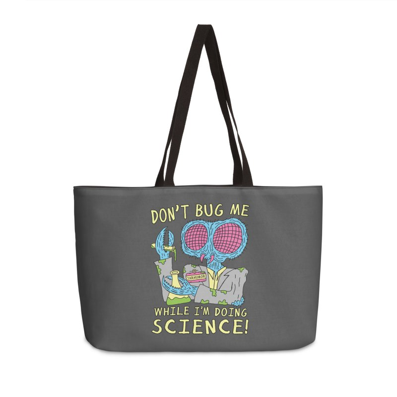 Bug Science Accessories Weekender Bag Bag by JARHUMOR