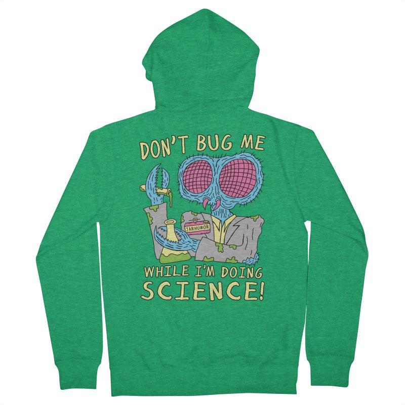 Bug Science Men's French Terry Zip-Up Hoody by JARHUMOR