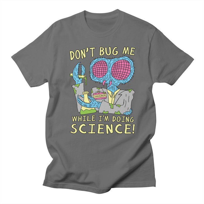Bug Science in Men's Regular T-Shirt Asphalt by JARHUMOR