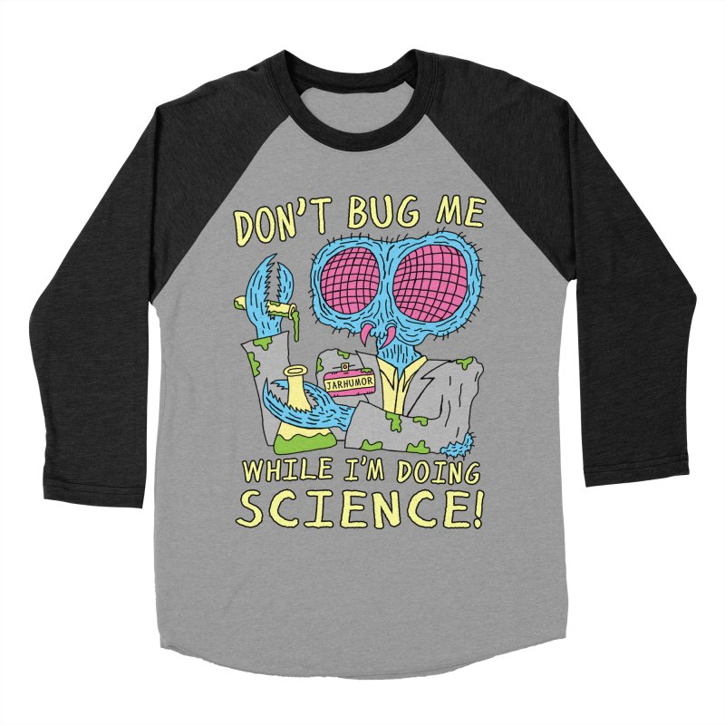 Bug Science Women's Baseball Triblend Longsleeve T-Shirt by JARHUMOR