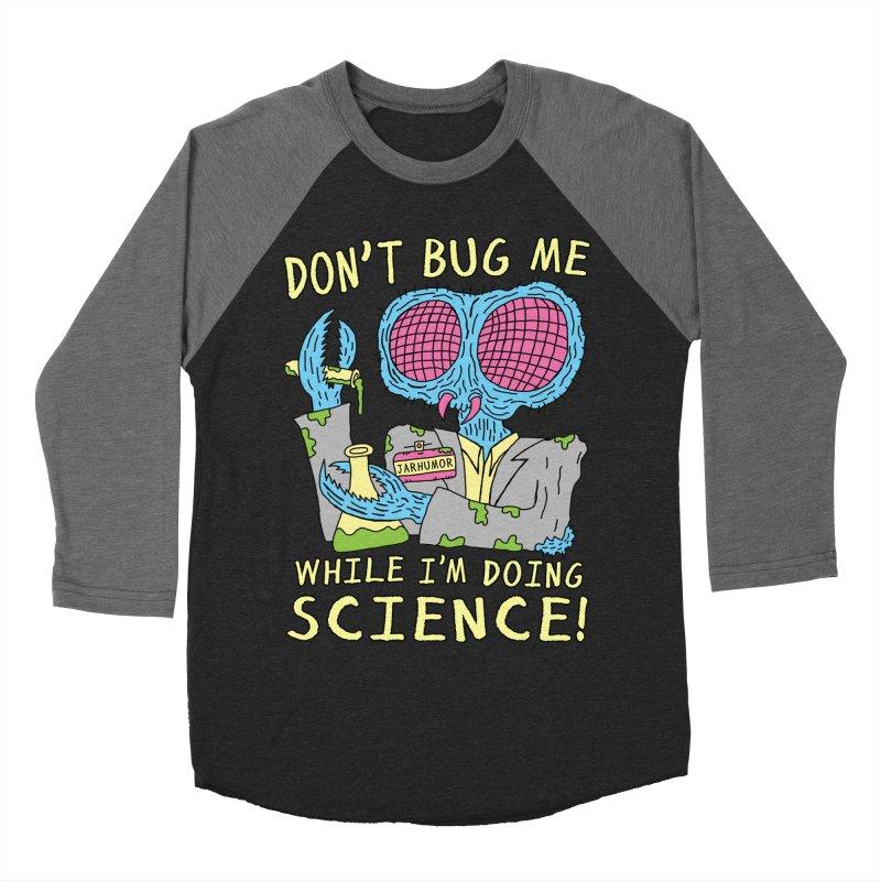 Bug Science Men's Baseball Triblend Longsleeve T-Shirt by JARHUMOR