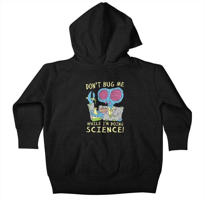 Bug Science Kids Baby Zip-Up Hoody by JARHUMOR