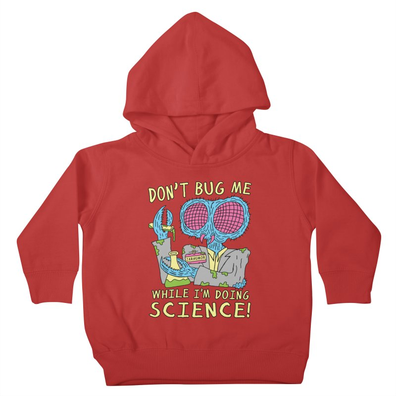 Bug Science Kids Toddler Pullover Hoody by JARHUMOR