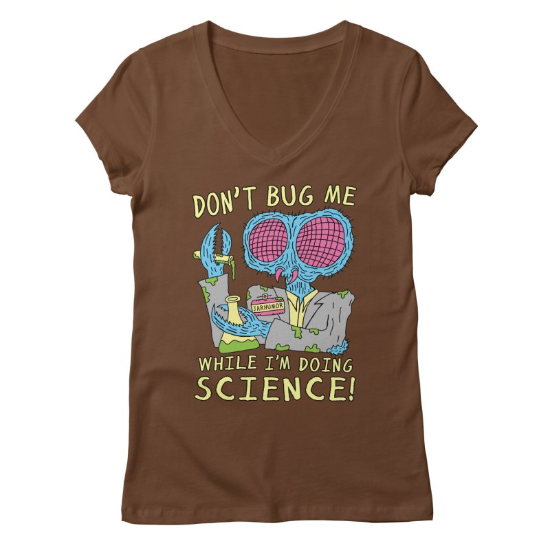Bug Science Women's Regular V-Neck by JARHUMOR