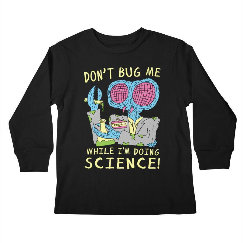 Bug Science Kids Longsleeve T-Shirt by JARHUMOR