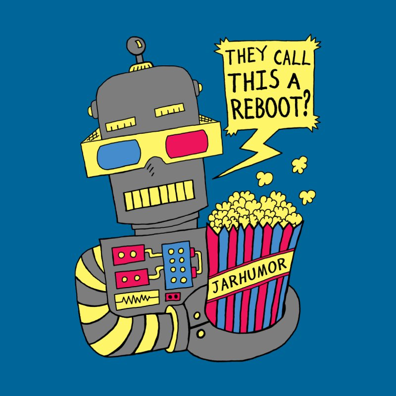 Robot Movie Reboot Home Tapestry by JARHUMOR
