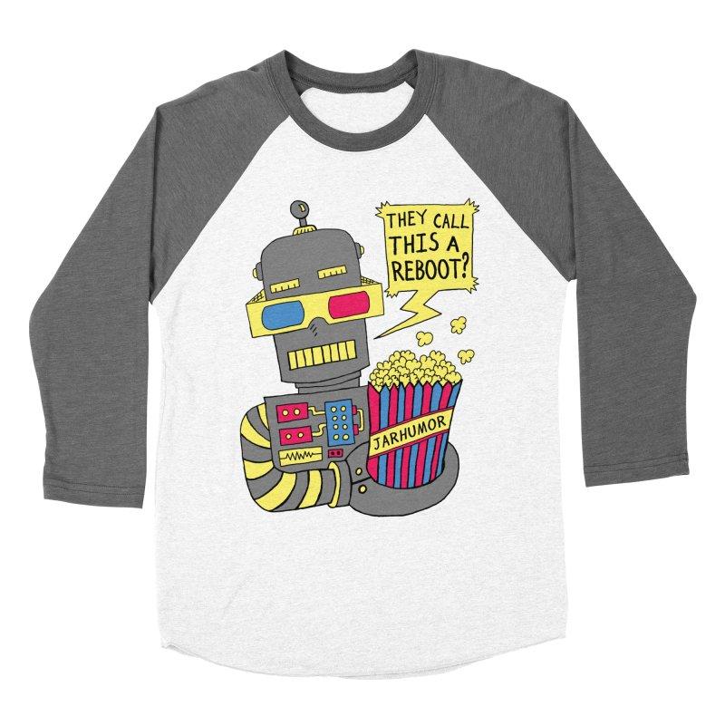 Robot Movie Reboot Women's Longsleeve T-Shirt by JARHUMOR