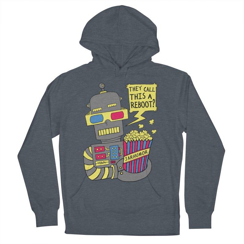 Robot Movie Reboot Men's Pullover Hoody by James A. Roberson (JARHUMOR)