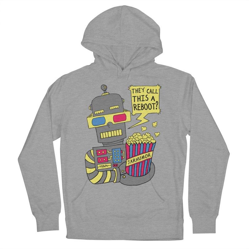 Robot Movie Reboot Men's Pullover Hoody by JARHUMOR
