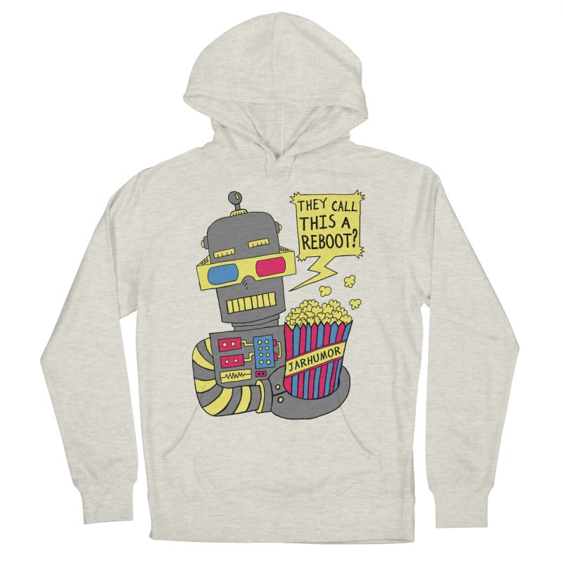 Robot Movie Reboot Men's Pullover Hoody by JARHUMOR