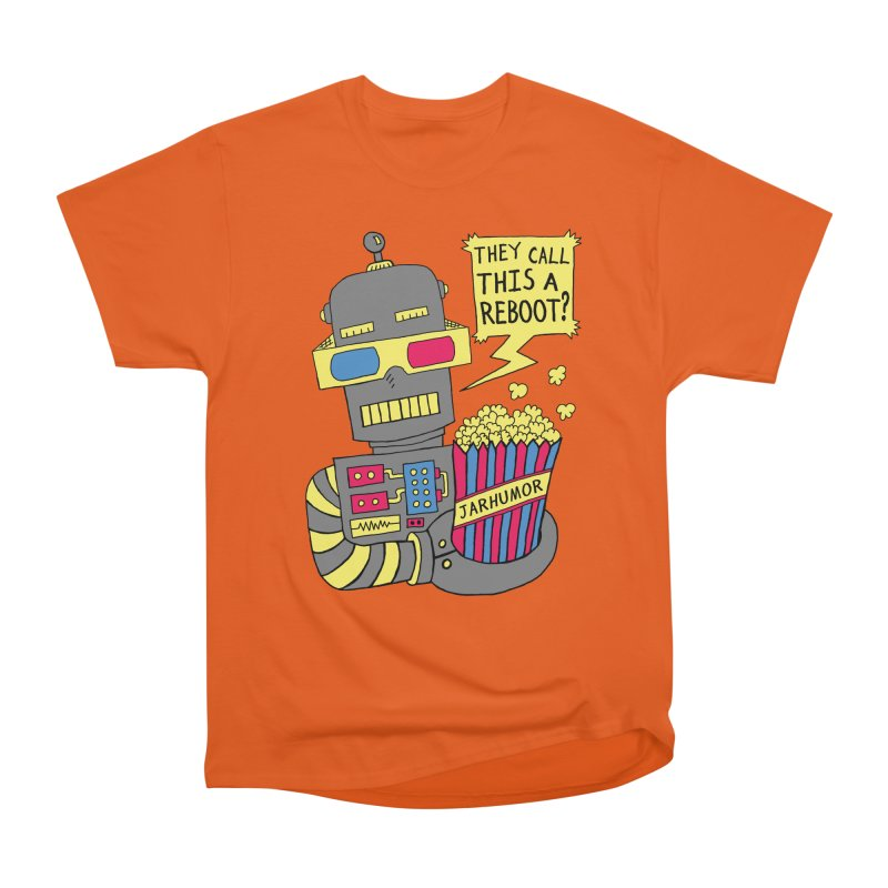 Robot Movie Reboot Men's Heavyweight T-Shirt by JARHUMOR