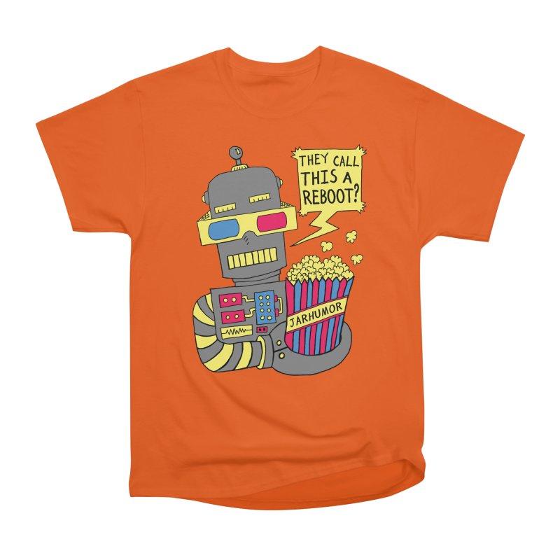 Robot Movie Reboot Women's Classic Unisex T-Shirt by JARHUMOR