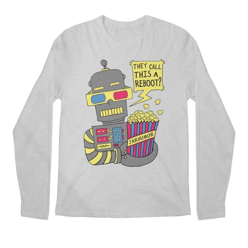 Robot Movie Reboot Men's Longsleeve T-Shirt by James A. Roberson (JARHUMOR)
