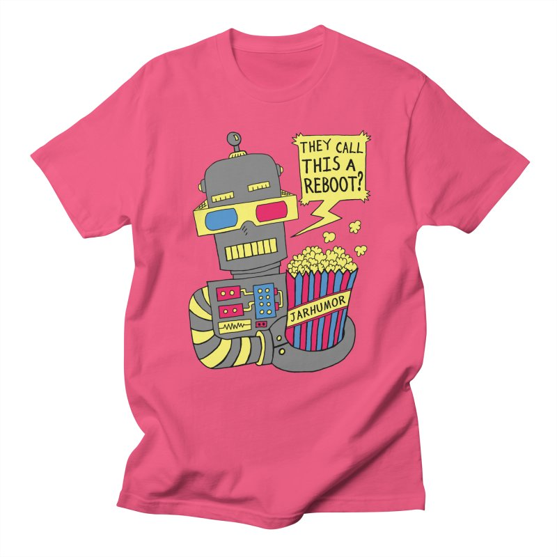 Robot Movie Reboot Men's T-Shirt by JARHUMOR