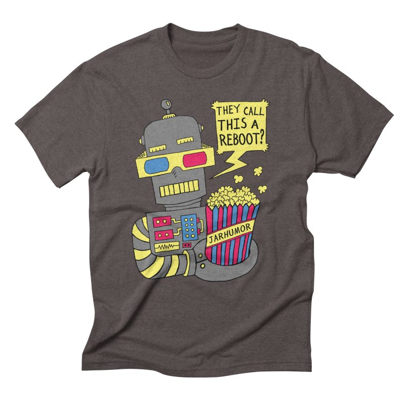 Robot Movie Reboot Men's  by JARHUMOR
